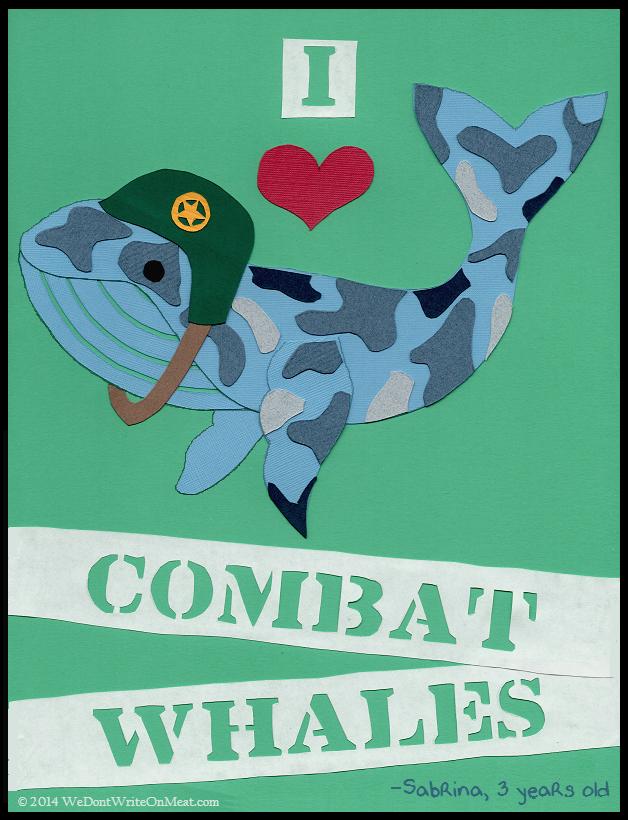 Combat Whales illustration