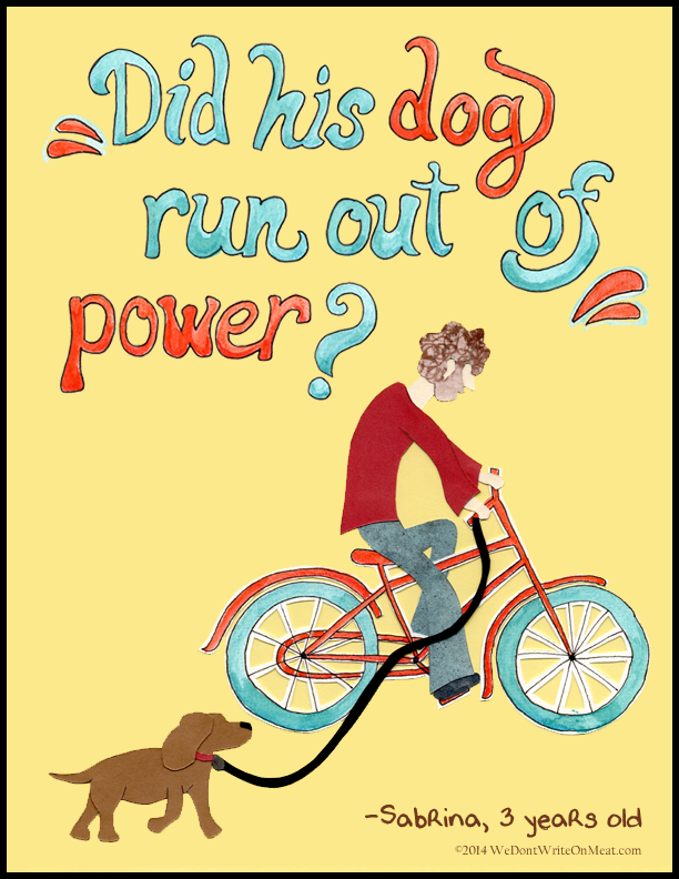 Bicycles and Dogs